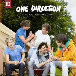 One Direction, Single Artwork, Live While We're Young