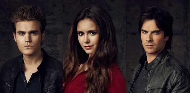 Ian Somerhalder, Nina Dobrev, Paul Wesley, The Vampire Diaries