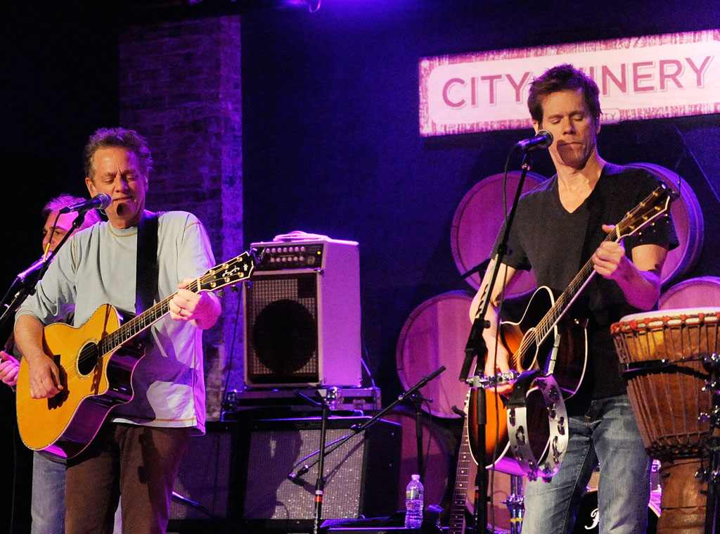 Kevin Bacon With The Bacon Brothers