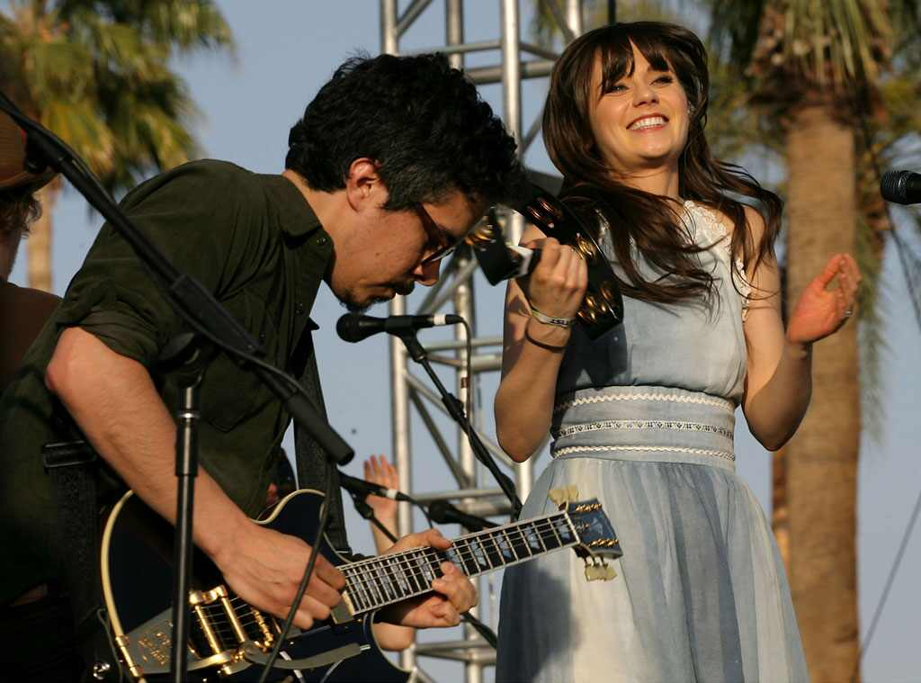 Zooey Deschanel With She & Him