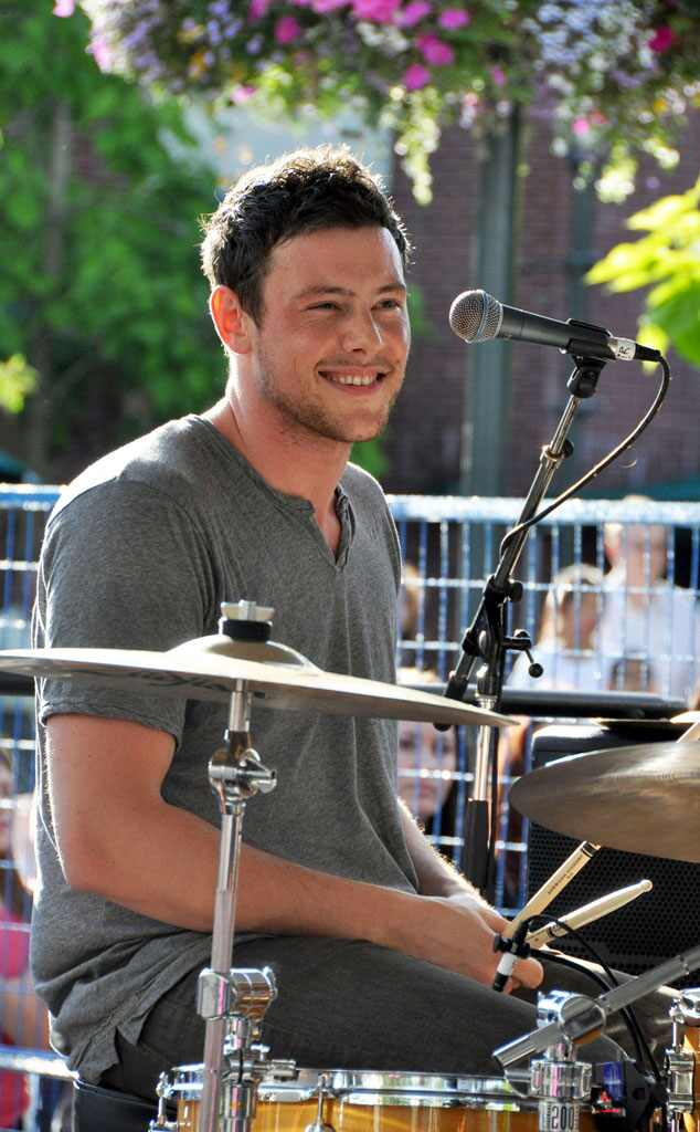 Cory Monteith With Bonnie Dune