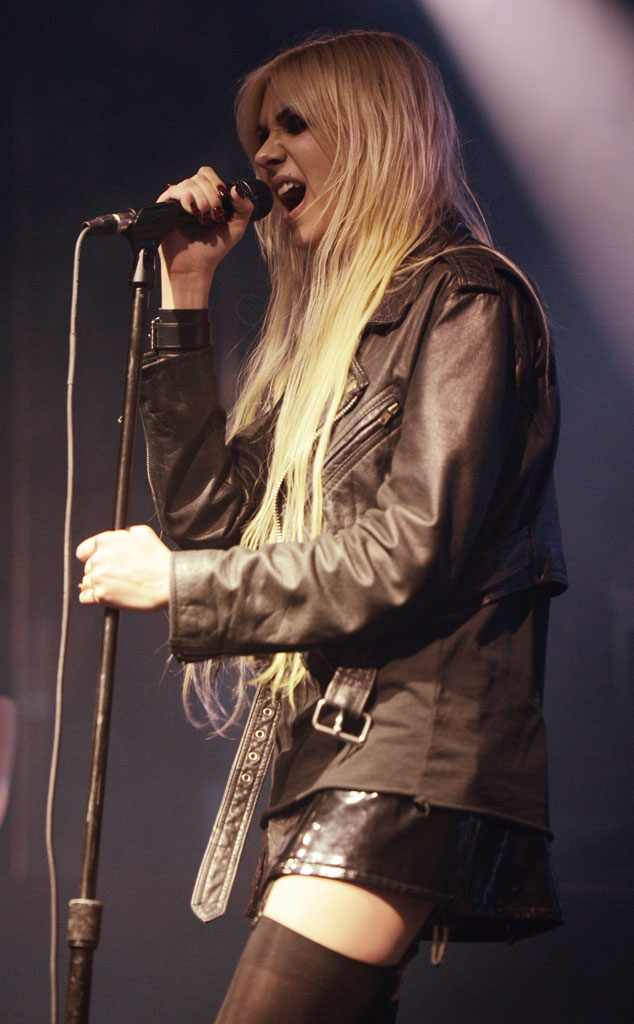 Taylor Momsen With The Pretty Reckless