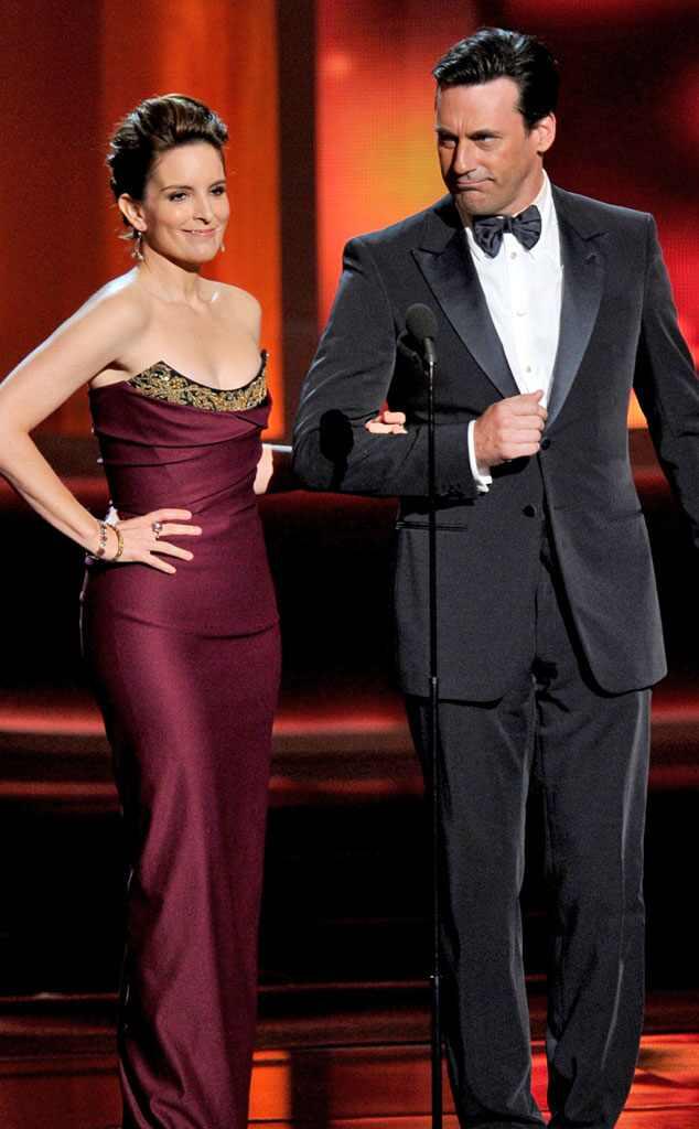 Emmy Awards, Tina Fey and Jon Hamm