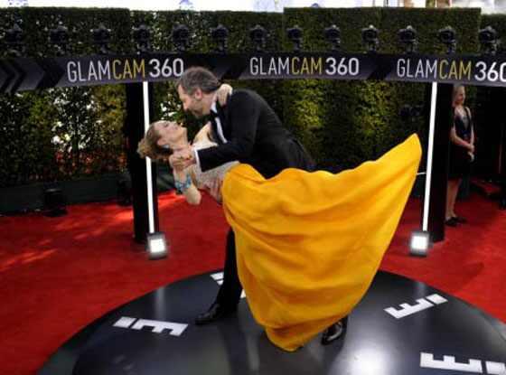 <i>Emmy 2012</i>: Os famosos na <i>Glam Cam</i>