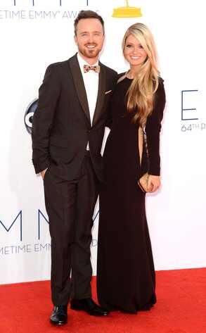 Tapete vermelho do <i>Emmy Awards</i> em fotos