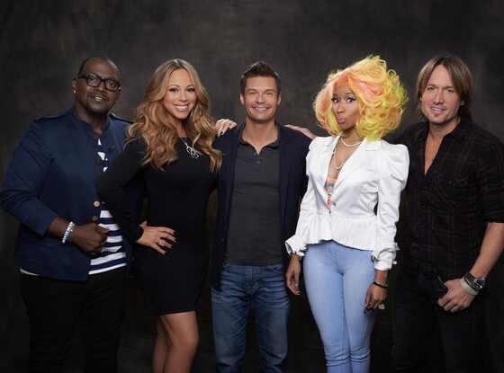 American Idol, Randy Jackson, Mariah Carey, Ryan Seacrest, Nicki Minaj, Keith Urban