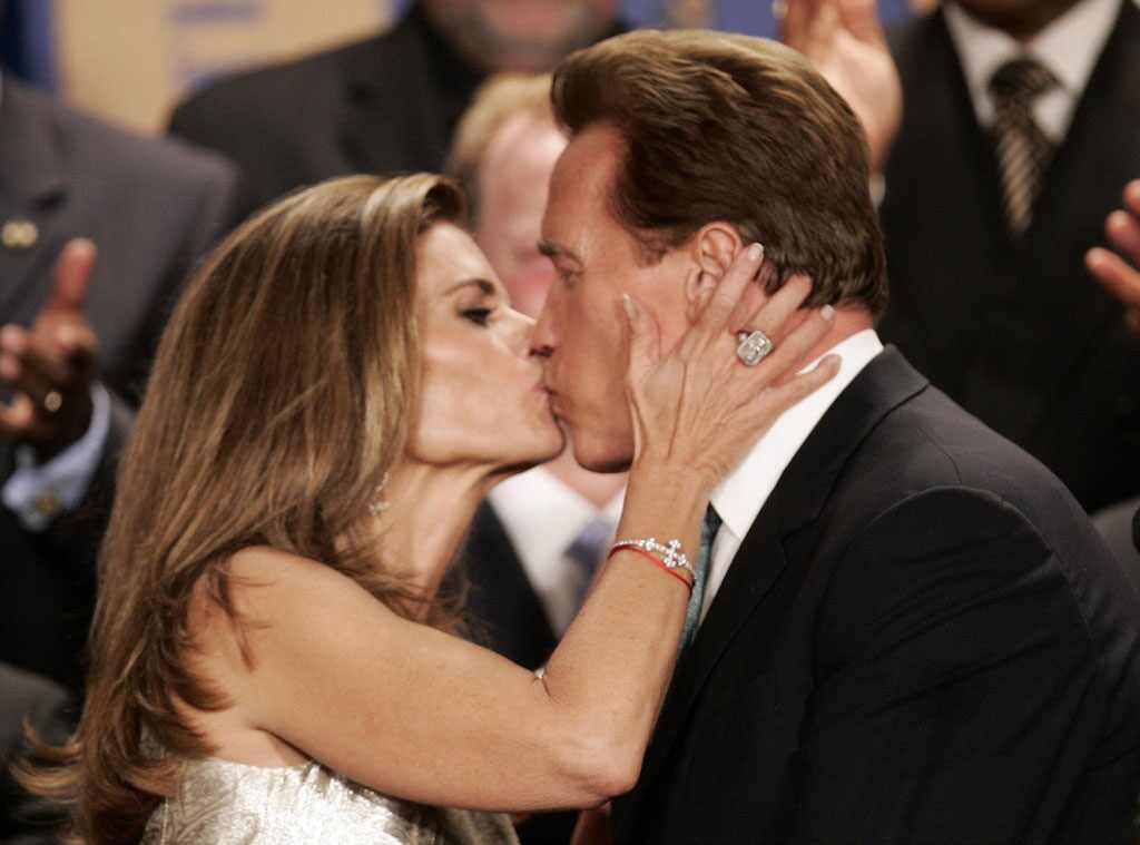 Maria Shriver & Arnold Schwarzenegger