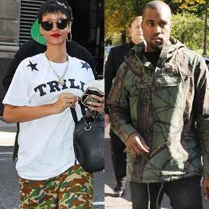 Rihanna, Kanye West