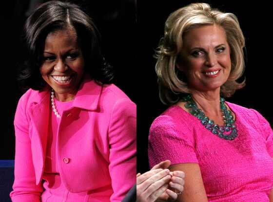 Resultado de imagen de Michelle Obama y su aspirante a sucesor Ann Romney