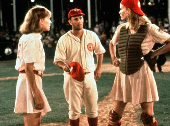 Lori Petty, Tom Hanks, A League Of Their Own