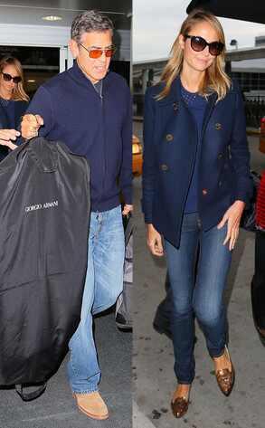George Clooney, Stacy Kiebler