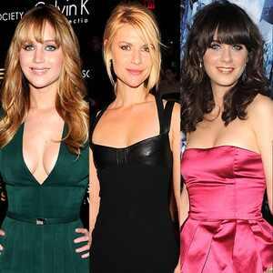 Jennifer Lawrence, Claire Danes, Zooey Deschanel, Marion Cotillard, Nicole Kidman