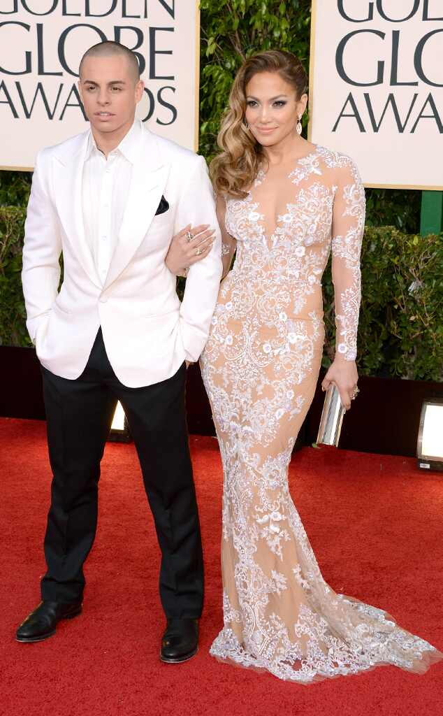 Jennifer Lopez, Casper Smart, Golden Globe