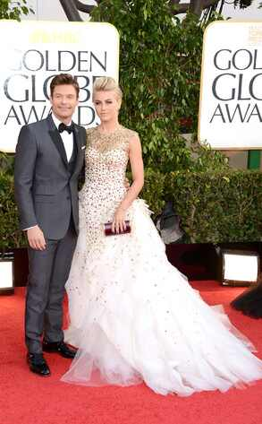 Ryan Seacrest, Julianne Hough, Golden Globe