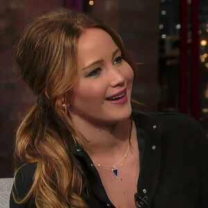 Jennifer Lawrence, David Letterman Show