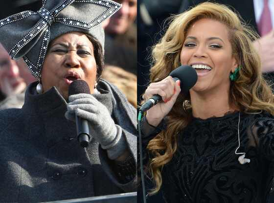 Aretha Franklin, Beyonce