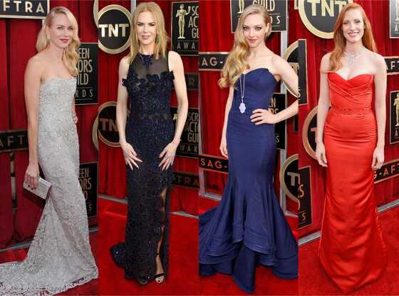 Top 10: as dez mais bem vestidas do SAG Awards