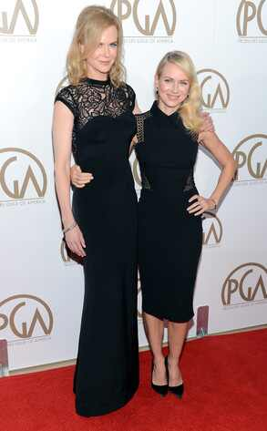 Nicole Kidman, Naomi Watts Producers Guild Awards