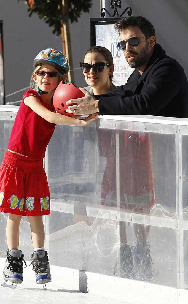 Ben Affleck, Jennifer Garner, Violet
