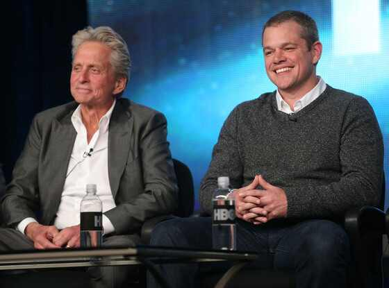 Matt Damon, Michael Douglas