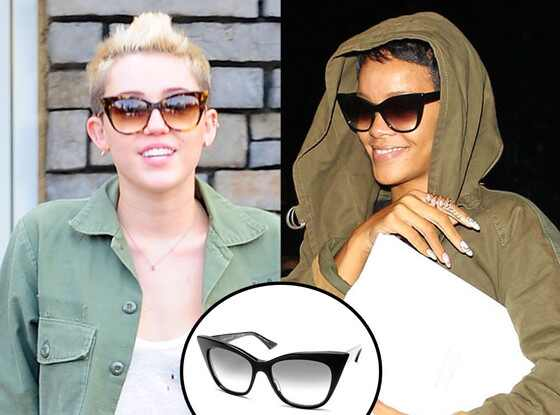 Miley Cyrus, Rihanna, Sunglasses