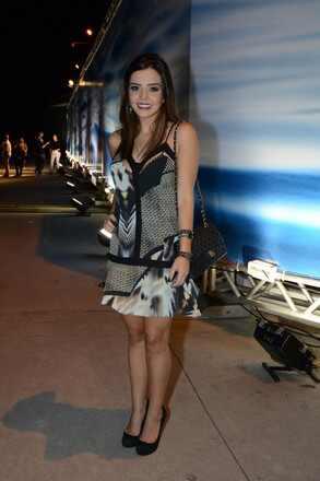 Giovanna Lancellotti no Fashion Rio inverno 2014