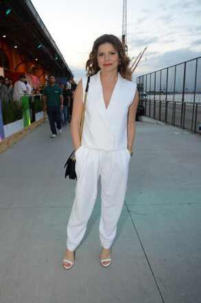Debora Bloch no Fashion Rio inverno 2014