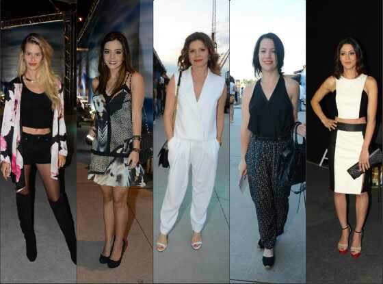 Famosas no último dia de Fashion Rio