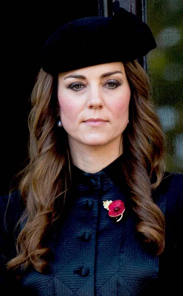Kate Middleton Covers Up Gray Hair With Black Beret E News