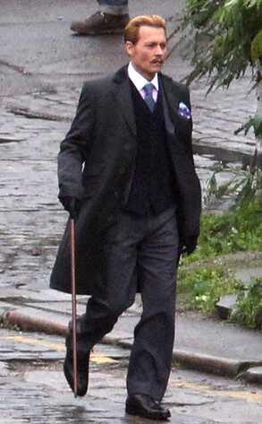 Así lucirá Johnny Depp en su próxima película (+ Foto)
