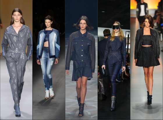 Tendência Jeans inverno 2014