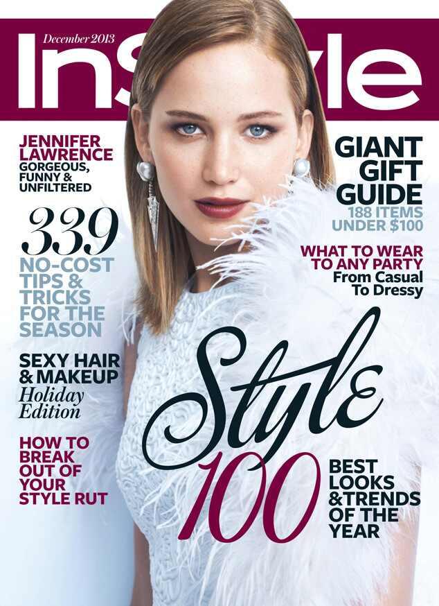 Jennifer Lawrence, InStyle