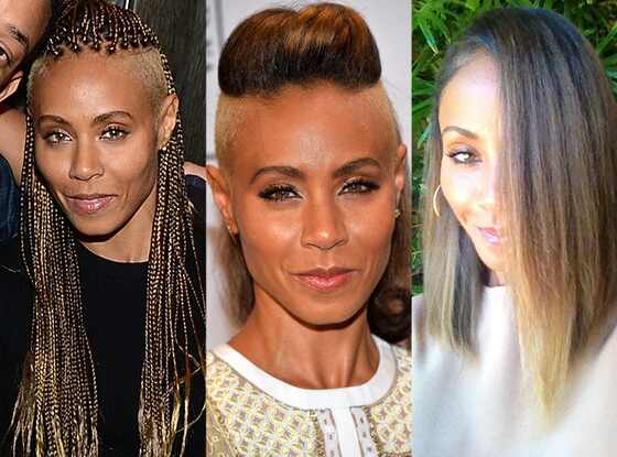 Jada Pinkett Smith, Hair