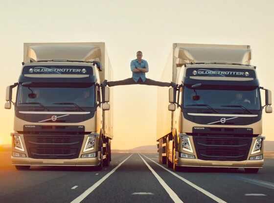 Jean-Claude Van Damme, Splits