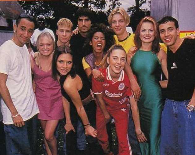 Backstrssts Boys, Spice Girls