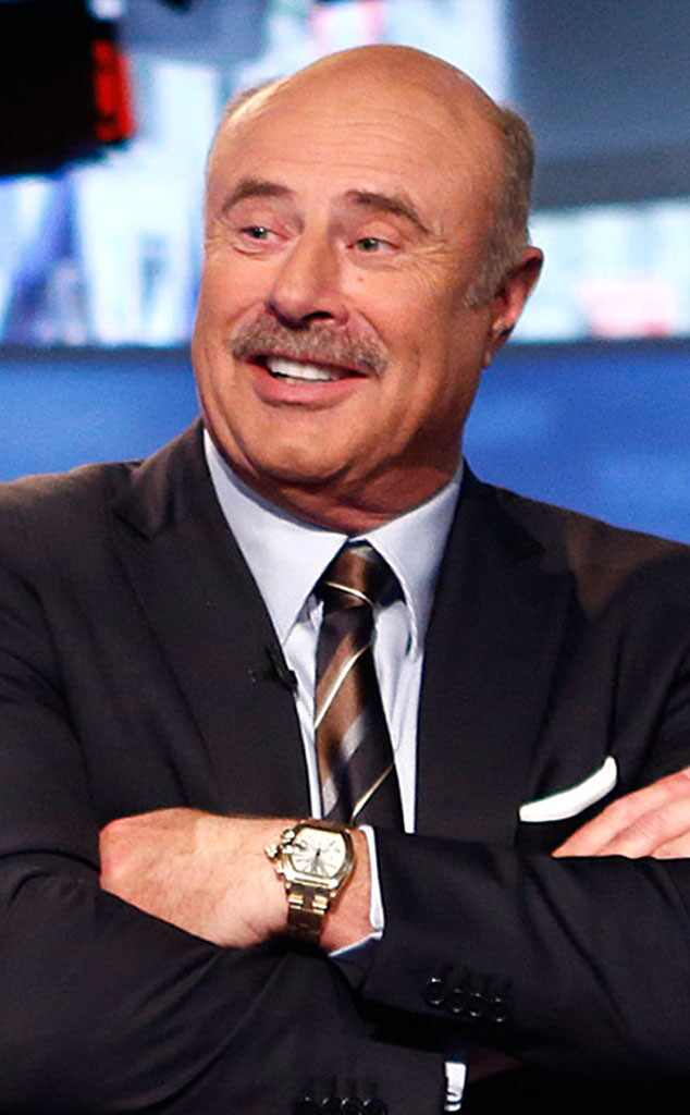 Dr Phil Mcgraw From Stars With Mustaches E News