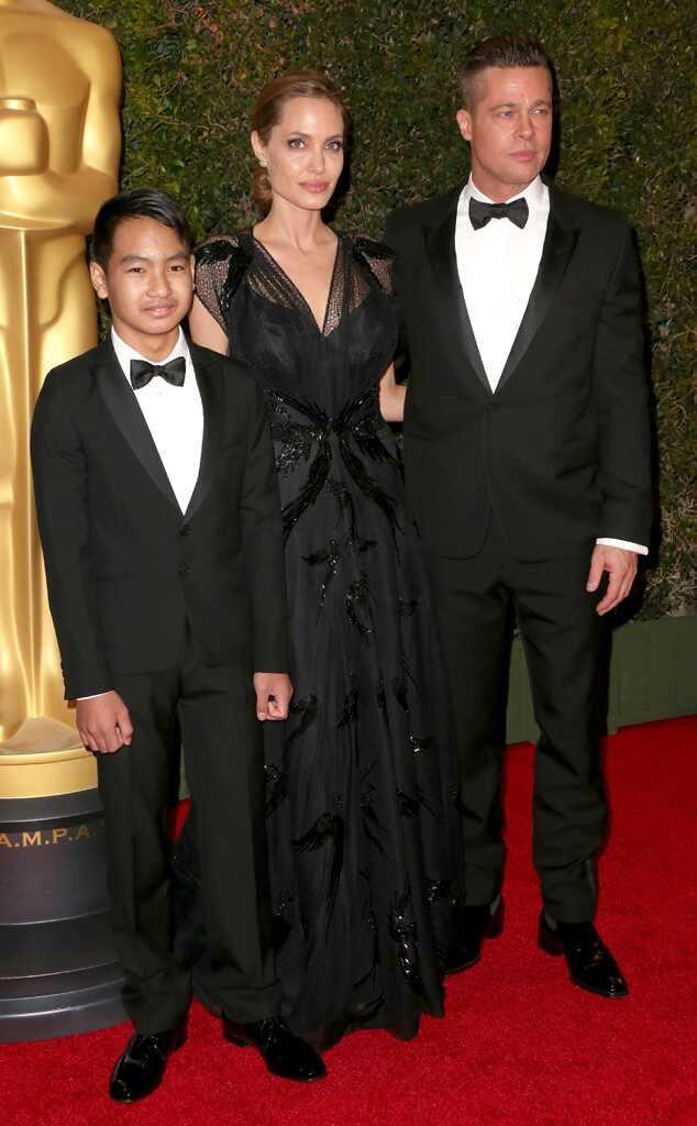 Angelina Jolie, Brad Pitt, Pax Thien Jolie-Pitt