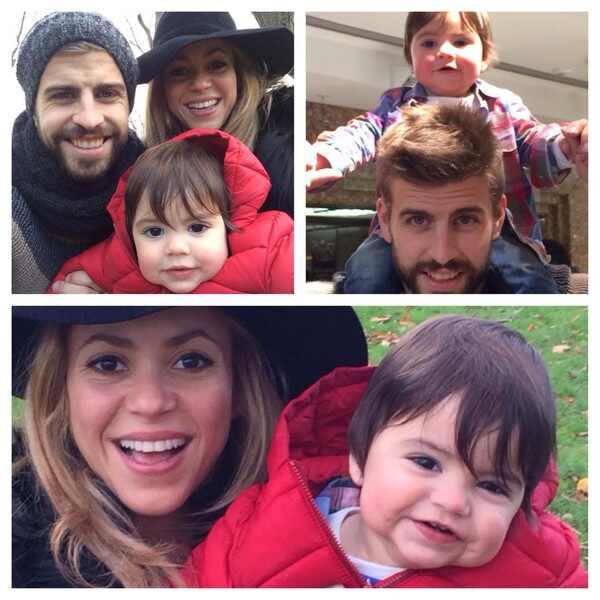 Shakira, Gerard Pique, Milan Pique Mebarak