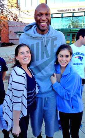 Lamar Odom, Students