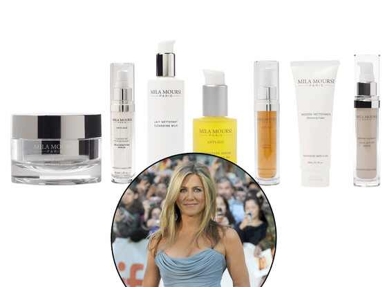Jennifer Aniston, Mila Moursi Skincare Spa