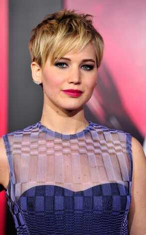 Jennifer Lawrence, LA Premiere, Catching Fire