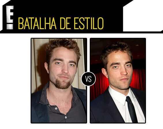Robert Pattinson estilo foto cavanhaque