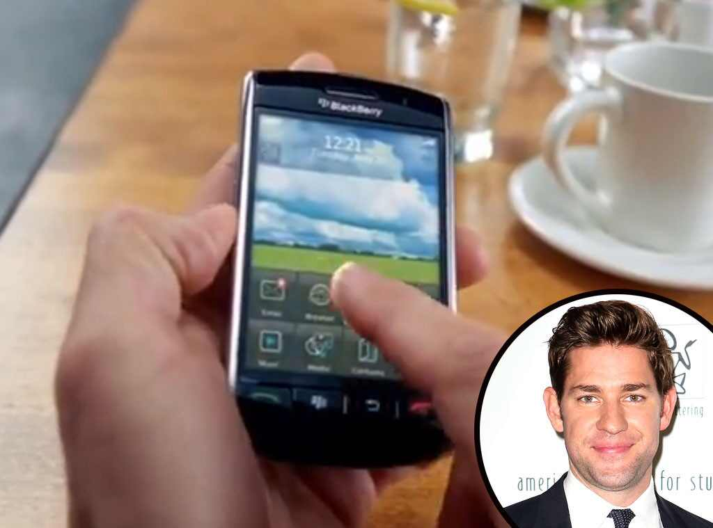 Celebrity Voiceovers, John Krasinski, Blackberry