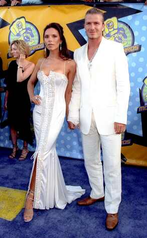 David Beckham, Victoria Beckham, 2003 MTV Movie Awards