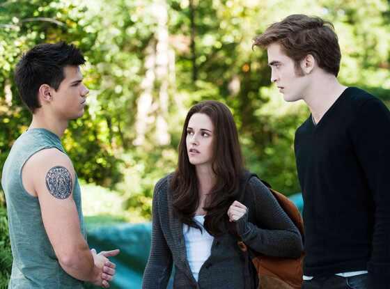 Taylor Lautner, Kristen Stewart, Robert Pattinson, Twilight Eclipse