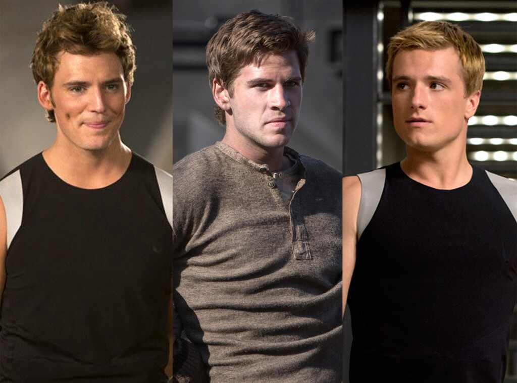 Liam Hemsworth, Josh Hutcherson, Sam Claflin, Hunger Games: Catching Fire