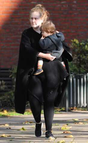Adele, Baby, London