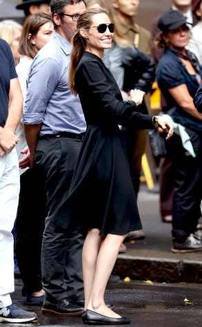 Angelina Jolie regresa al set de su nueva película como directora (+ Fotos)