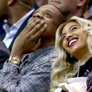 Jay-Z, Beyonce, Clippers