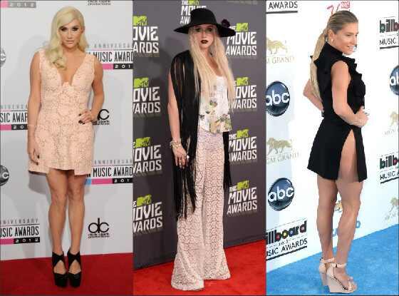 O estilo de Kesha no Red Carpet